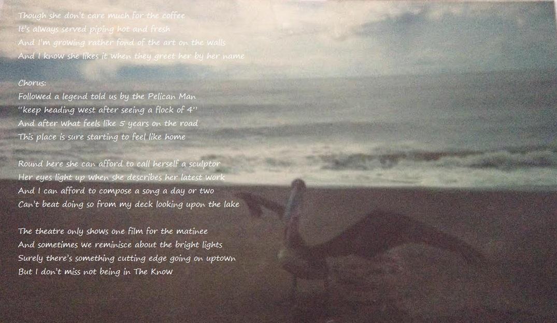 The Pelican Man Lyrics
